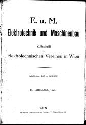 Elektrotechnik und Maschinenbau