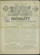 Fachblatt der Raseur-, Friseur- und Perückenmacher-Genossenschaft