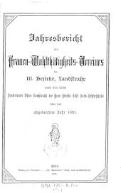 Frauen-Wohlthätigkeits-Verein für Wien und Umgebung