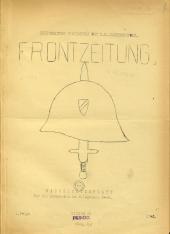 Frontzeitung. Kreiswaltung Nikolsburg des N.S.-Lehrerbundes