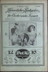 Illustriertes Familienblatt. Häuslicher Ratgeber für Österreichs Frauen.