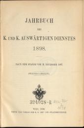 Jahrbuch des k. und k. Auswärtigen Dienstes