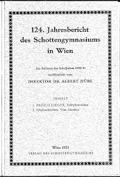 Jahresbericht Schottengymnasium Wien