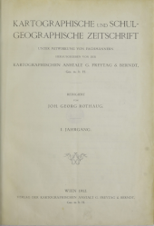 Kartographische und Schulgeographische Zeitschrift