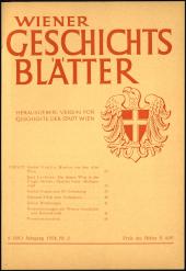 Monatsblatt des Alterthums-Vereines zu Wien