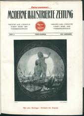 Moderne illustrierte Zeitung für Reise und Sport