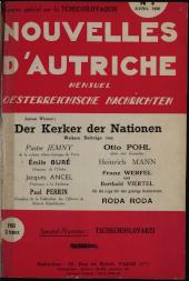 Nouvelles d'Autriche. Österreichische Nachrichten.