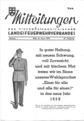 Mitteilungen des Niederösterreichischen Landesfeuerwehrverbandes