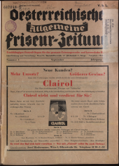 Österreichische Allgemeine Friseur-Zeitung