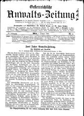 Österreichische Anwaltszeitung