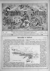 Reise- und Fremdenzeitung für Tirol und Vorarlberg Organ zur Hebung des Fremden- Verkehrs ; autorisiertes Organ des Landesverbandes für Fremdenverkehr in Tirol / Landesverband für Fremdenverkehr in Tirol.