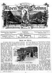 Illustri(e)rte Österreichische Alpen-Zeitung