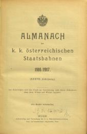 Almanach der k. k. österreichischen Staatsbahnen