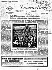 Frauen-Briefe / Katholische Frauen-Organisation für die Erzdiözese Wien