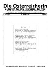 Die Österreicherin. Zeitschrift für alle Interessen der Frau