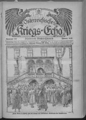 Österreichisches Kriegs-Echo
