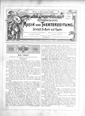 Österreichische Musik- und Theaterzeitung