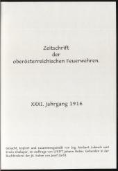 Zeitschrift der oberösterreichischen Feuerwehren