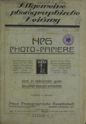 Allgemeine Photographische Zeitung