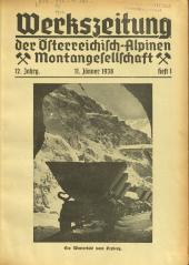 Werkszeitung der Österreichisch-Alpinen Montangesellschaft