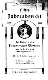 Jahresbericht der Schulen des Frauen-Erwerbvereines in Brünn