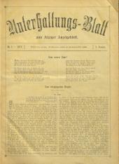 Unterhaltungs-Blatt zum Alzeyer Anzeigeblatt