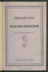 Jahresbericht der Vereinigung bildender Künstlerinnen Österreichs