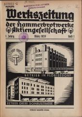 Werkszeitung der Hammerbrotwerke Aktiengesellschaft