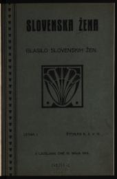 Slovenska Žena (Die slowenische Frau)