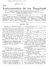 Landesamtsblatt für das Burgenland
