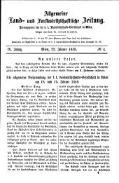 Allgemeine land- und forstwirthschaftliche Zeitung