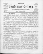Österreichische Buchdrucker-Zeitung