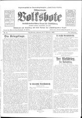 Böhmerwald-Volksbote: sozialdemokratisches Organ für Südböhmen