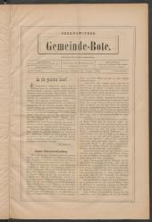 Czernowitzer Gemeinde-Bote