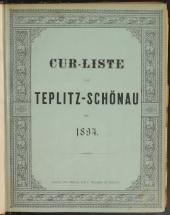 Cur-Liste von Teplitz und Schönau