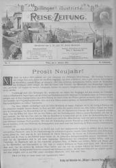 Dillinger's Reisezeitung: Blätter für Reise und Fremdenverkehrs-Wesen