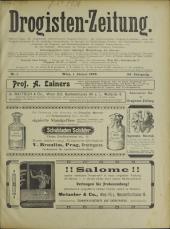 Drogisten-Zeitung: Organ des Allgemeinen Österreichischen Drogistenvereines.