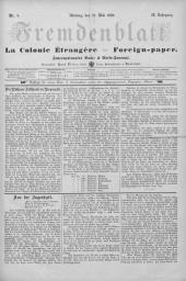 Fremdenblatt: Organ für die böhmischen Kurorte, 1889-05-27