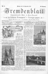 Fremdenblatt: Organ für die böhmischen Kurorte, 1892-09-26
