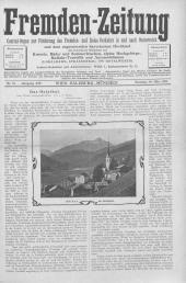 Fremden-Zeitung : Central-Organ zur Förderung des Fremden-Verkehres in Oesterreich und Salzburg, 1901-03-30