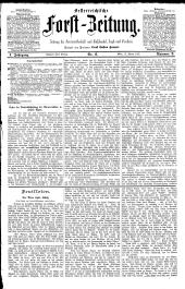 Österreichische  Forstzeitung