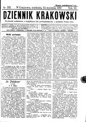 Dziennik Krakowski (Krakauer Tagblatt)