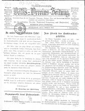Niederösterreichische Volks- und Vereins-Zeitung