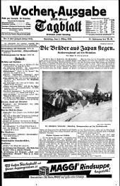 Neues Wiener Tagblatt (Wochenausgabe)