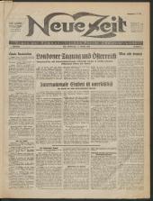 Neue Zeit -Organ der Kommunistischen Partei Oberösterreichs