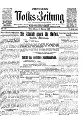 Oesterreichische Volks-Zeitung