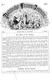 Politische Frauen-Zeitung. Sonntags-Beilage zur Tages-Presse