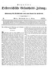 Populäre österreichische Gesundheits-Zeitung