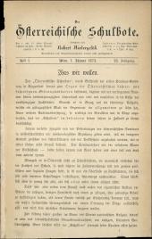 Der Österreichische Schulbote