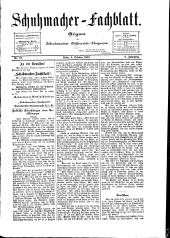 Schuhmacher-Fachblatt